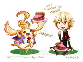Piece of Cake! by Bon-Bon-Bunny