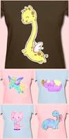 Kawaii Crayon Tees are for sale! by Bon-Bon-Bunny