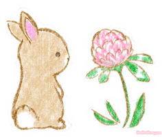 Clover Bunny (+ t-shirts!) by Bon-Bon-Bunny