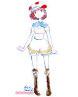 Cute Toad Costume by Bon-Bon-Bunny