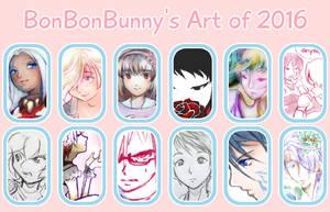 2016 Art Summary by Bon-Bon-Bunny
