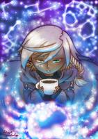 Coffeemancer (For HM: Animal Parade Zine) by Bon-Bon-Bunny