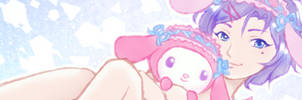 Snuggle Time with Yuu and My Melody~ by Bon-Bon-Bunny