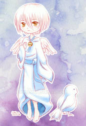 Angel Birdie Boy (Golden Sky Stories) by Bon-Bon-Bunny