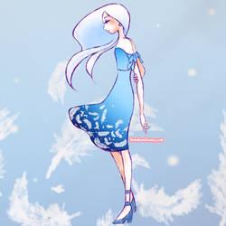 (Preorders Open!) Angel Feather Dress by Bon-Bon-Bunny