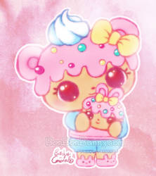 Num Noms Yummy Dottie and Bun-fetti by Bon-Bon-Bunny