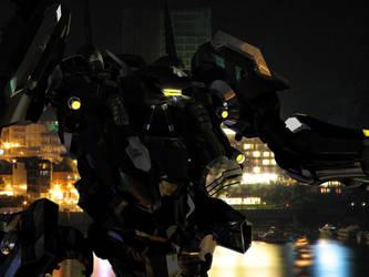 Battle at night by JunkyJack