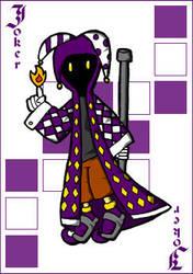 Joker Card by Zero4bx