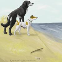 'PlagueDogs' The Sea by KeechakVarg