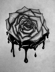 Bleeding Rose by pumpedhorses