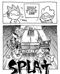 Inkmo and Jackmo Get Hit by a Car by Inkmo