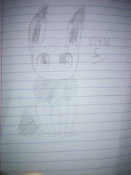 Eevee Sketch by greelytourmaline