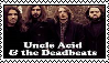 Uncle Acid and The Deadbeats Stamp by greelytourmaline