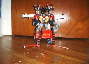 Optimus Prime Super Mode by toyet24