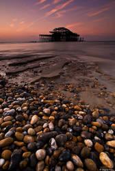 West Pier sunrise by Joaquim-Pinho