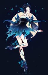 Nicole : Dark Fairy by petitster