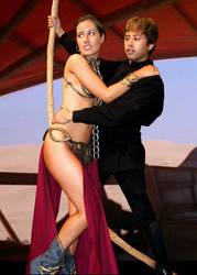 Luke and Leia: Escape by Matt-Hadder