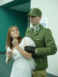 'Come vit me, Fraulein'. by Matt-Hadder