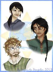 Various Hyoomins... by SekoiyaStoryteller