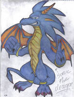 sonic the dragon by werehog-fanclub