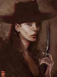 Gunslinger by TheSig86