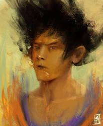 Goku by TheSig86