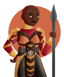 Okoye by Cleo-Makes-Mistakes