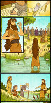 John the Baptizer and Jesus by eikonik