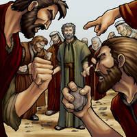 Stoning of Stephen by eikonik