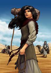 Rebekah: The Watergirl by eikonik