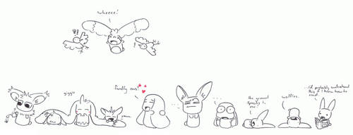 many bunnehs by Daemon107