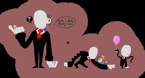 slendy man by Daemon107