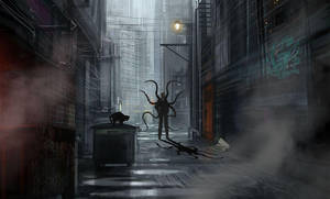 Slender Alley by confusedgorilla