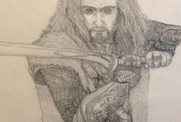 Corrupted Thorin Oakenshield by DemonHunteress