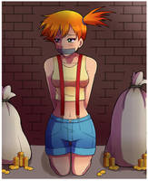 Damsel in Distress - Misty by SweetxSnowxDream
