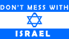 Don't mess with Israel stamp by DaniWolfdog
