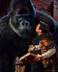 Well Read Gorilla - Wayfinder2 by AaronMiller