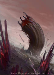 Black Wurm by AaronMiller