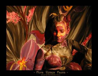 Flora Versus Fauna by king-josie