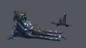 Finn And Huntress Wizard Is Taking A Nap. by Juanshou