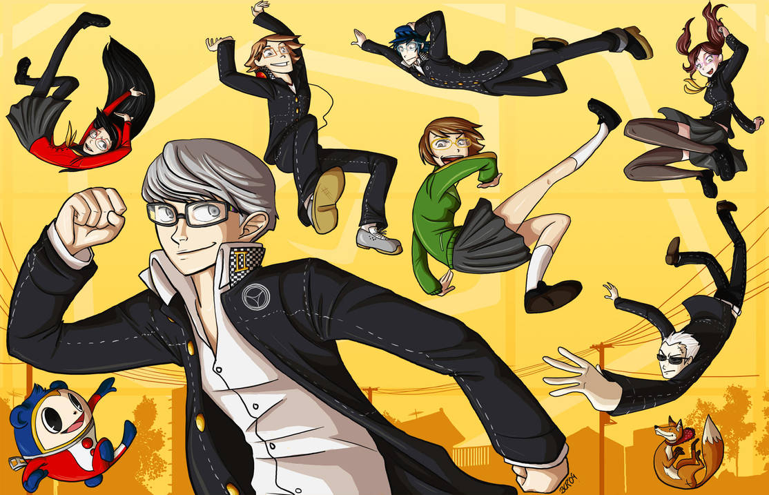 Grab your Glasses - Persona 4 by wallabri