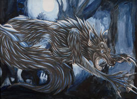Happy Halloween: Night Beast by Thunderflight
