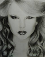 Drawing Taylor Swift by cdudley25