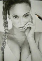 Drawing Beyonce by cdudley25