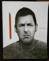 Drawing of Adam Sandler by cdudley25