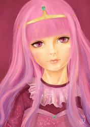 Princess Bubble Gum Fanart by FoxyKitsuChan