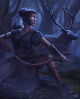 Artemis by ForrestImel