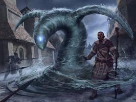 Mr. Water Warlock by ForrestImel