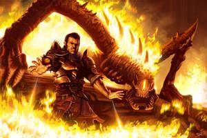 Sir Fire Fella by ForrestImel