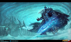 Death Knight Hero - Arthas Menethil by ForrestImel
